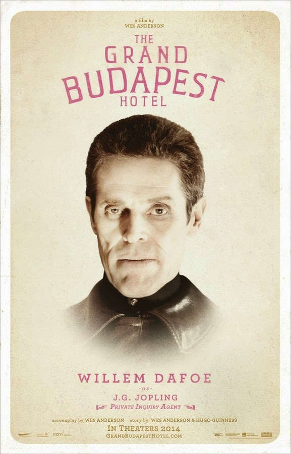 the grand budapest hotel willem dafoe