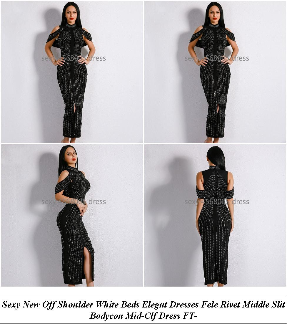 Aveline Lack Off-The-Shoulder Maxi Dress - Open A Vintage Clothing Store - Corset Dresses Prom