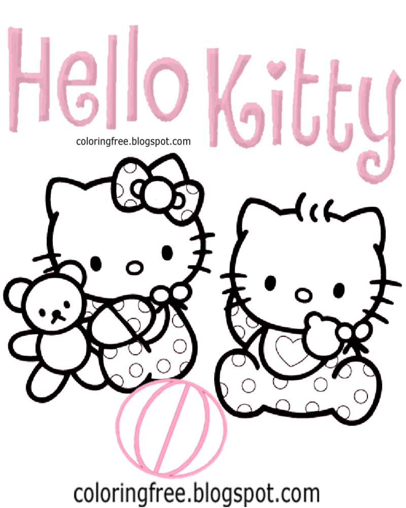 Hello Kitty Coloring Pages Roll : Free coloring pages printable pictures to color kids