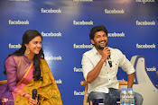 Nani and Keerhi Suresh at Facebook Office-thumbnail-12