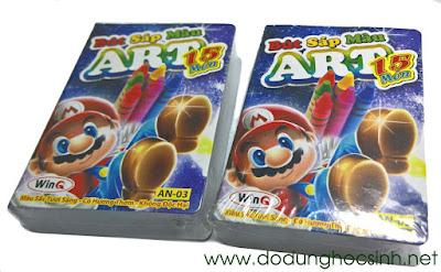 Bút sáp màu ART WinQ 15 món (AN-03)