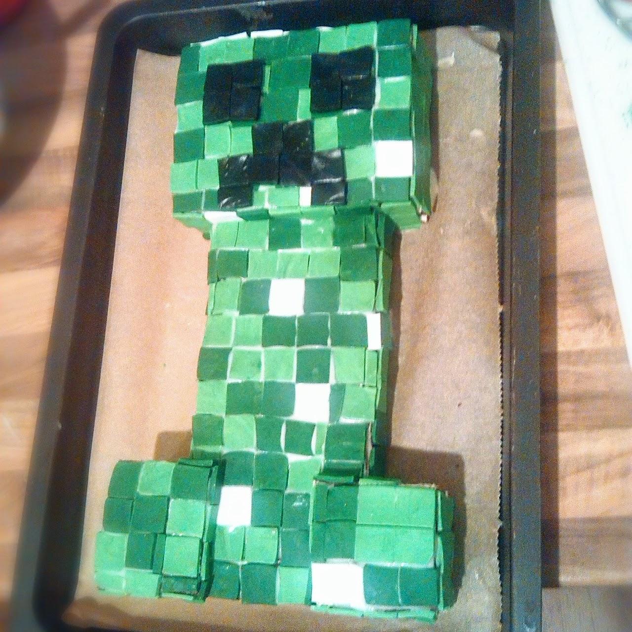 Midori S Blog Minecraft Creeper Kuchen