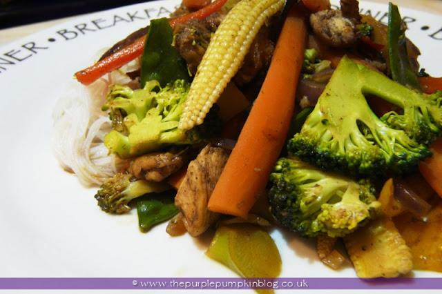 Chicken & Vegetable Stir Fry | The Purple Pumpkin Blog