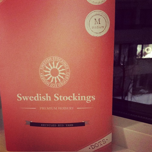 Sustainable hosiery by Swedish Stockings