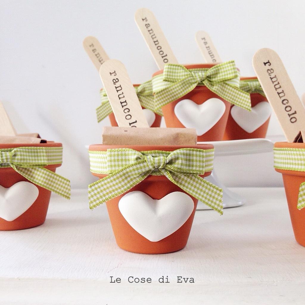 Amato Le Cose di Eva: Bomboniere ecosostenibili - Vasetti con bulbi HG45