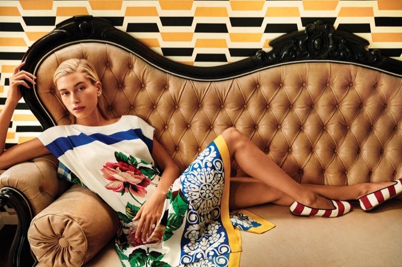 Hailey Baldwin for Weekend MaxMara 'Nantucket' Collection