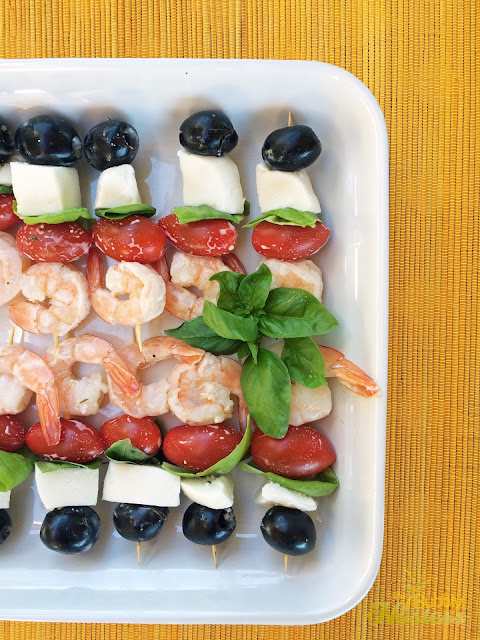 Tangy Shrimp Appetizer Skewers