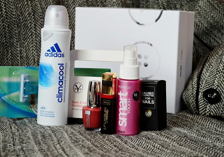 STYLOVY Styczeń czyli ShinyBox styczeń 2016 - zestaw kosmetyków