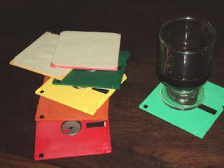 Diskettes posavasos
