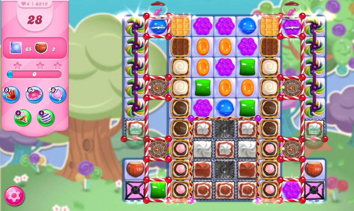 Candy Crush Saga level 6312