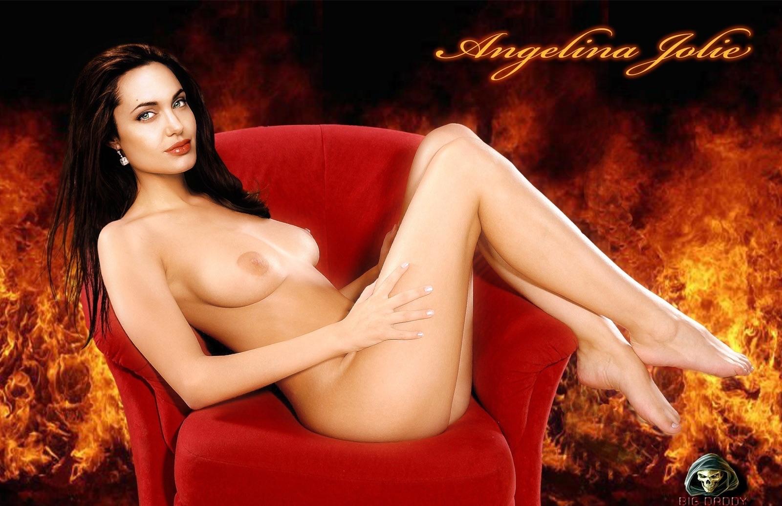 Nude pics of angelina jolie, thin black girl fucking