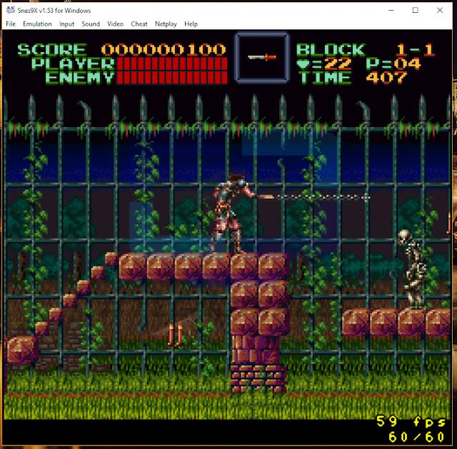 Castlevania SNES9x