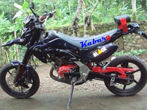 Cara Modifikasi Dan Gambar Yamaha RX King Jadi Trail Terbaru 2019