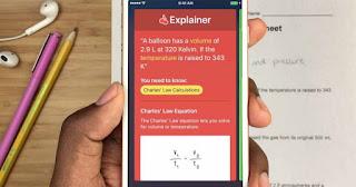 تطبيق Socratic يتيح لك حل المعادلات الرياضية والكيمياء غيرها