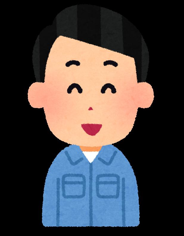 sagyouin man04 laugh - 【安眠】マットレスセミダブルの特徴と、おすすめ商品5選を紹介。