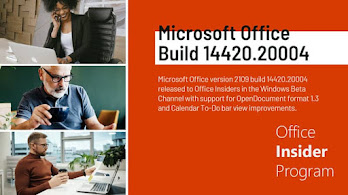 Microsoft adds OpenDocument format 1.3 support to Microsoft Office Version 2109