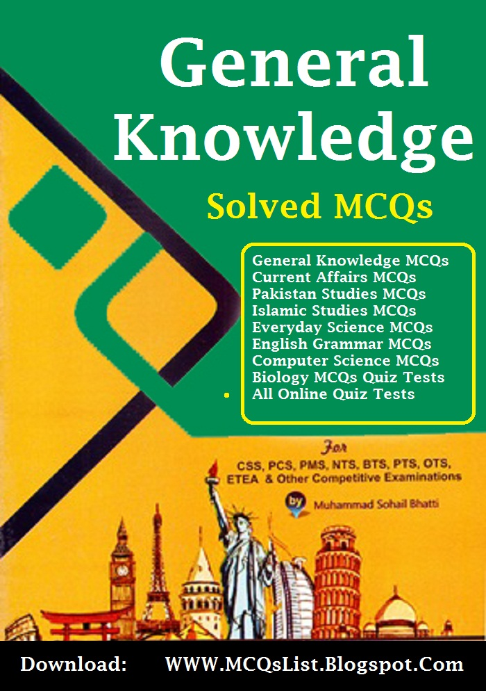 Dogarsons General Knowledge Book PDF For Exams - Solve-MCQs