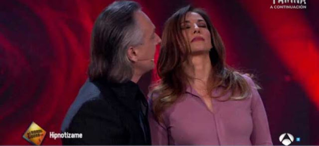 Marilo Montero hipnotizada en el programa hipnitizame de Antena 3