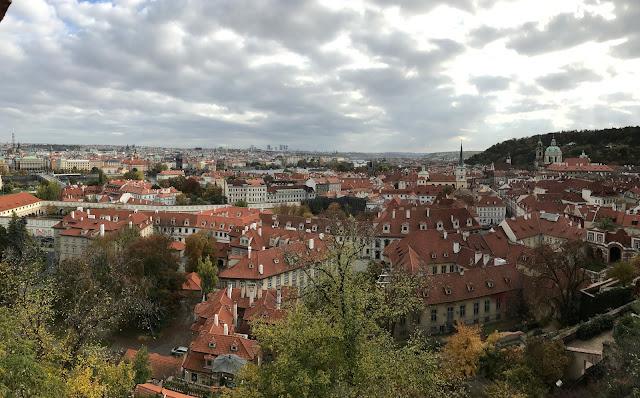 Prague vue du chateau