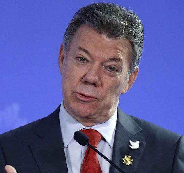 Presidente Juan Manuel Santos faz todas as contorções legítimas e ilegítimas para impor uma 'paz' que Colômbia recusa em peso.