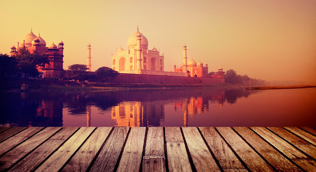 Beautiful Image of Taj Mahal, heritageofindia, Indian Heritage, World Heritage Sites in India, Heritage of India, Heritage India