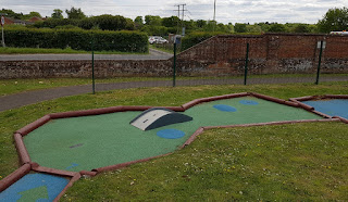 Adventure Golf at Romsey Rapids Sports Complex in Southampton