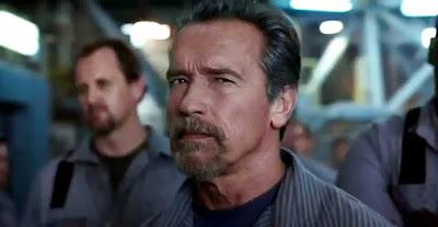 Arnold in filmul Escape Plan