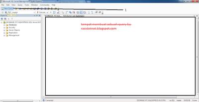Membuat Database dengan Query di Sql Server 2005