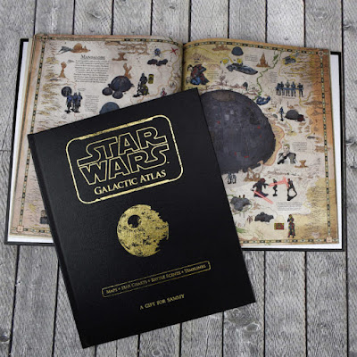 Star Wars Galactic Atlas personalised book