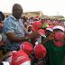 See Gov Fayose take Father Christmas to the streets of Ado Ekiti ...photo