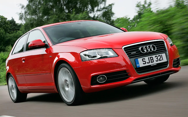 Anthony Joshua's Audi