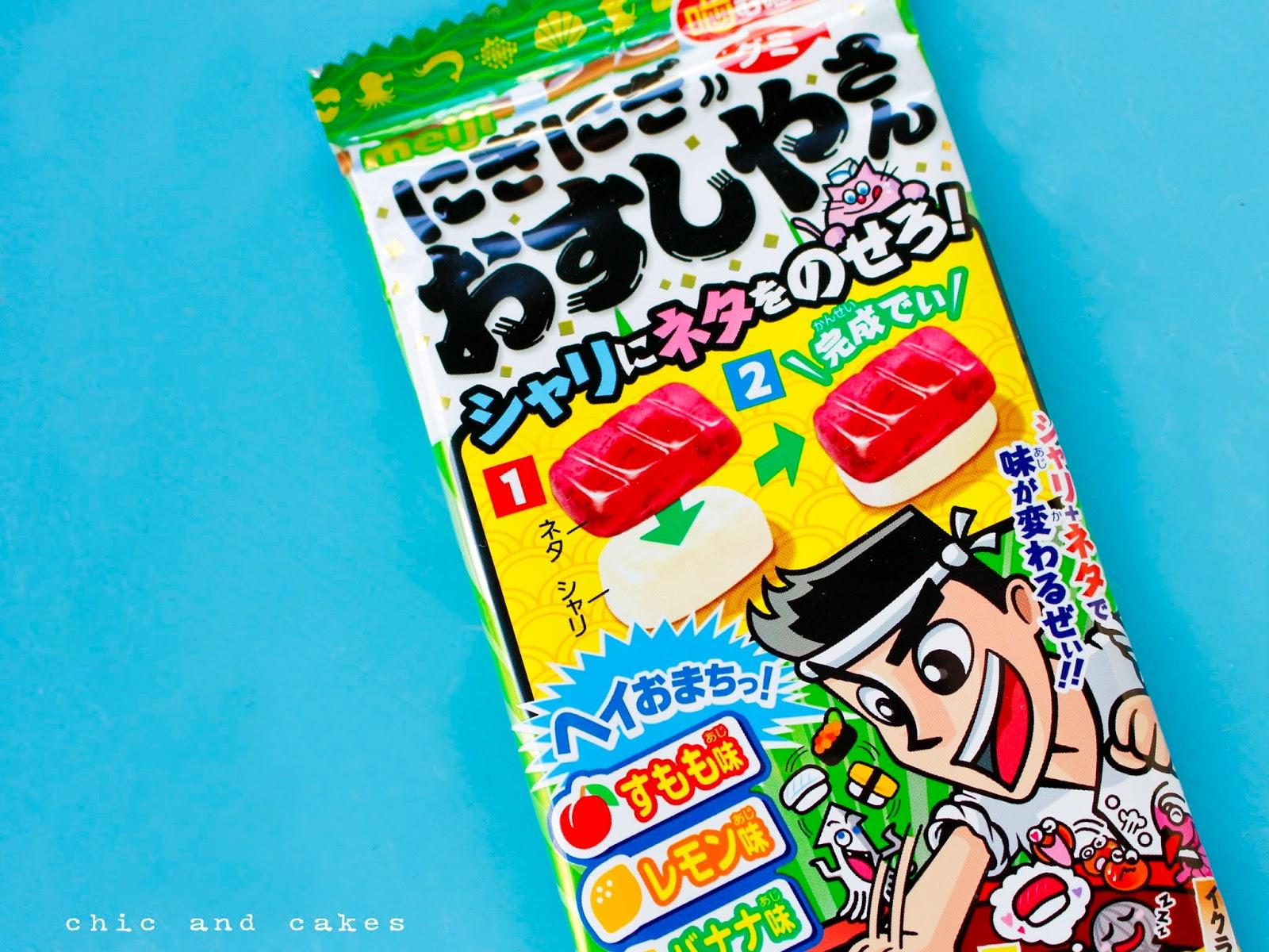 chucherías de sushi sweets