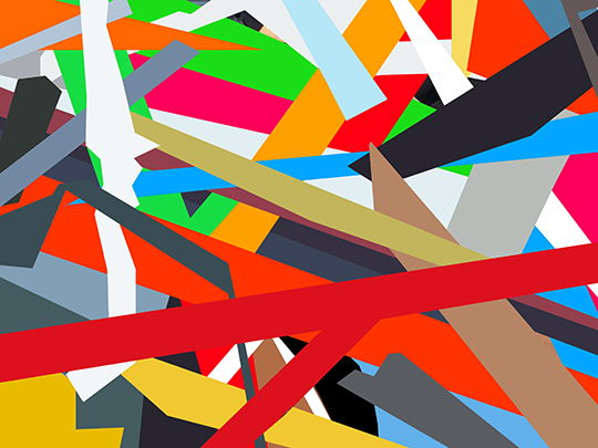 abstract, geometric, painting, artist, contemporary art, artwork, digital painting, abstract painting, Sam Freek, modern, wall art,