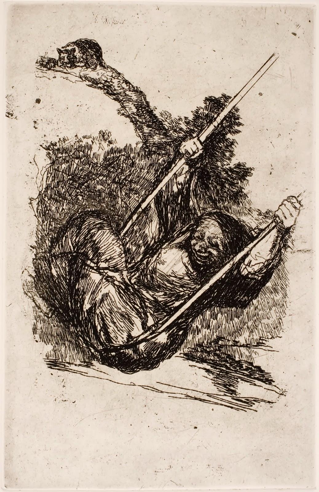 Francisco Goya: Últimos Caprichos - Rézkarcfitness