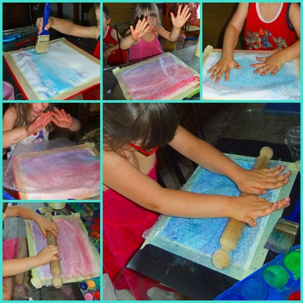 Studiamando Liberamente Dipingere Con L Aria Bolle Colorate