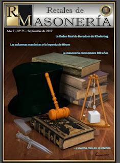 Retales de Masonería 75 – Septiembre 2017