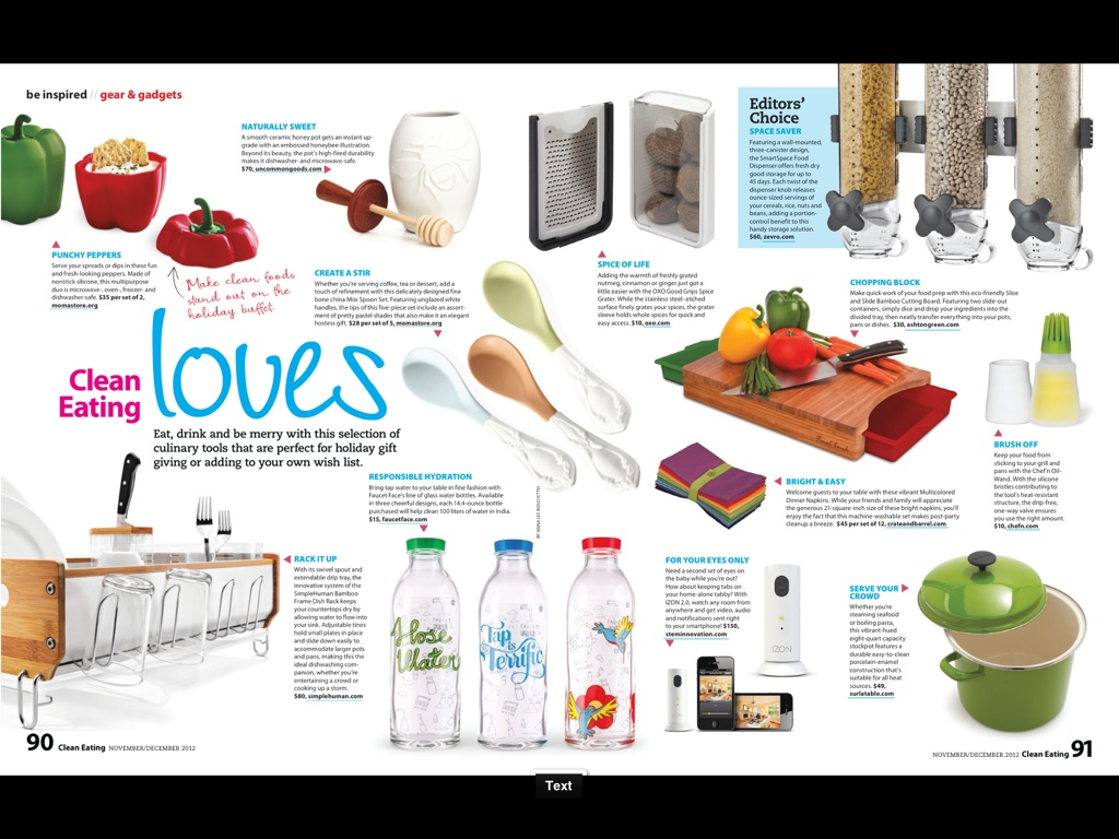 Christmas Gift Guide Magazine.Clean Eating Magazine Christmas Gift Ideas