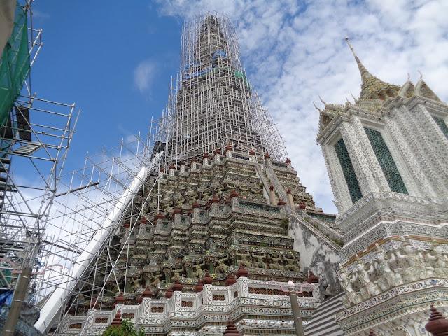 Bangkok Wat Arum en obras