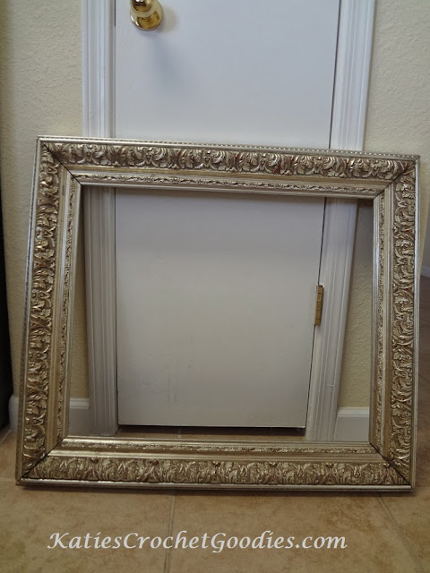 recycle picture frame craft