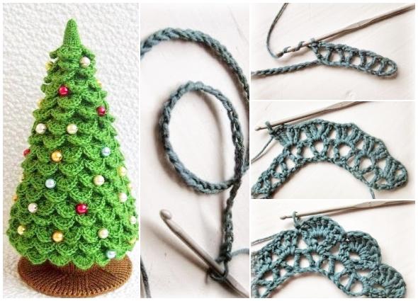Patrón – Paso a paso – Arbol navidad – Crochet – Ganchillo – Comando Craft  | Ganchillo navidad, Ganchillo navidad paso a paso, Crochet de navidad | 425x590
