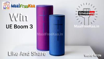 UE BOOM 3 Bluetooth Speakers Free