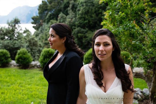 Same sex wedding Casa Angelina Praiano