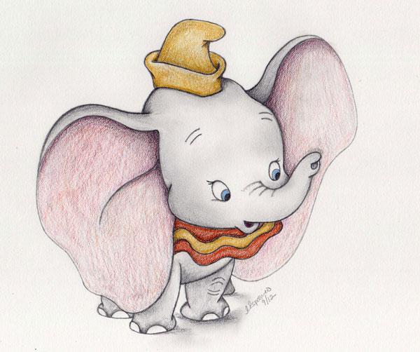 the enchanted easel: HAPPY HAPPY BIRTHDAY LITTLE DUMBO!!!