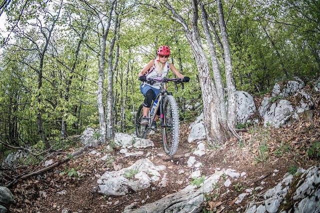 Ucka Mountainbike Tour Trail Track Singletrail Kroatien Opatija