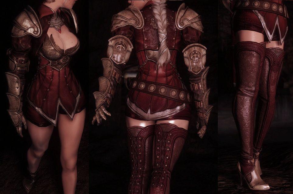 cbbe skyrim armor