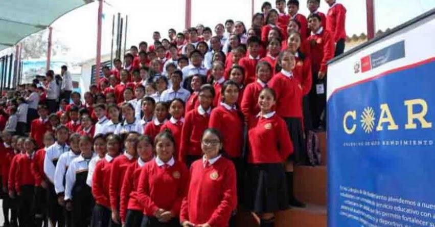 COAR: Estudiantes de la Red de Colegios de Alto Rendimiento del Cusco analizan violencia escolar