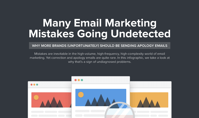 Many Email Marketing Mistakes Going Undetected