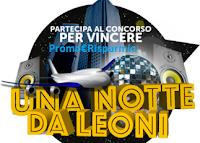 Logo Racconta la tua notte da leoni e vinci gratis soggiorno per 4 persone
