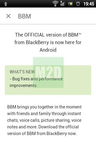 BBM GB update terbaru Juni 2015