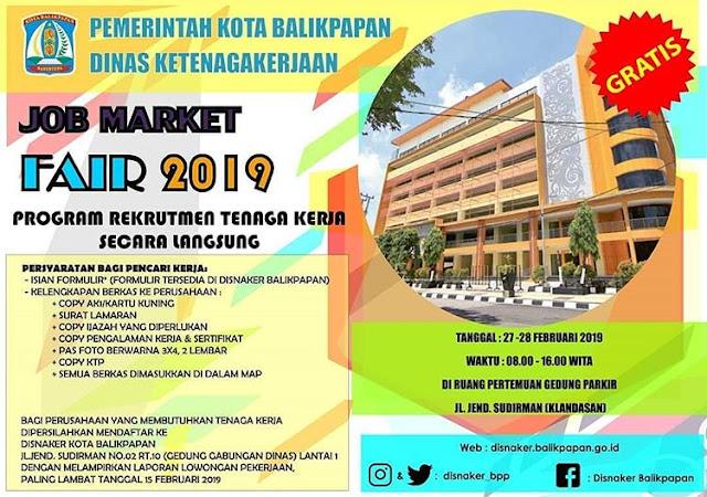 Job Fair di Balikpapan (GRATIS)